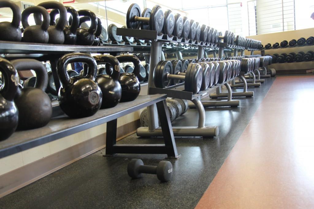 UMD weight room