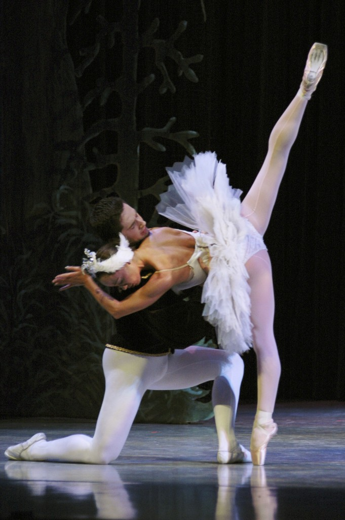 The grand pas de deux from Swan Lake is one of the performances featured at Minnesota Ballet's 50th Anniversary Gala. SUBMITTED BY MINNESOTA BALLET