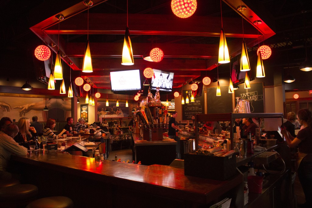 Tavern features a variety of seating areas including a full wrap around bar. BRAD EISCHENS/STATESMAN