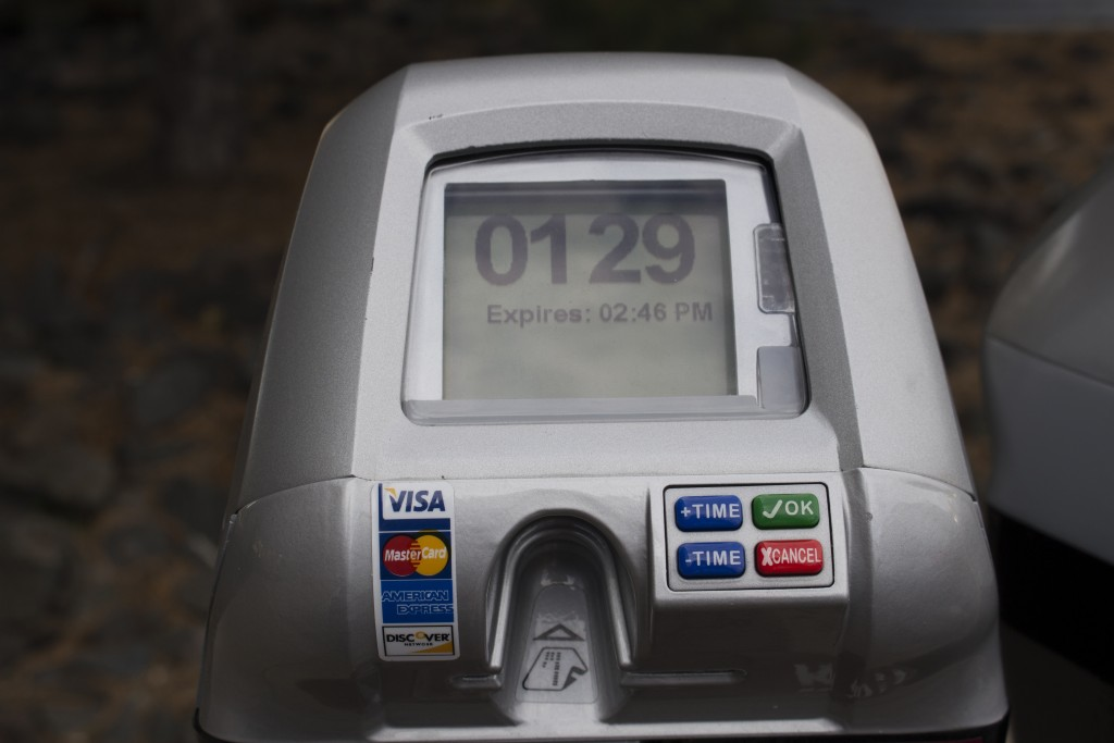 New meters allow for longer parking time rather than limiting it to less than two hours. BRAD EISCHEN/STATESMAN