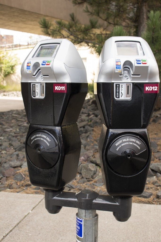 200 of 320 parking meters have been replaced, with the remaining set to be updated this summer. BRAD EISCHENS/STATESMAN