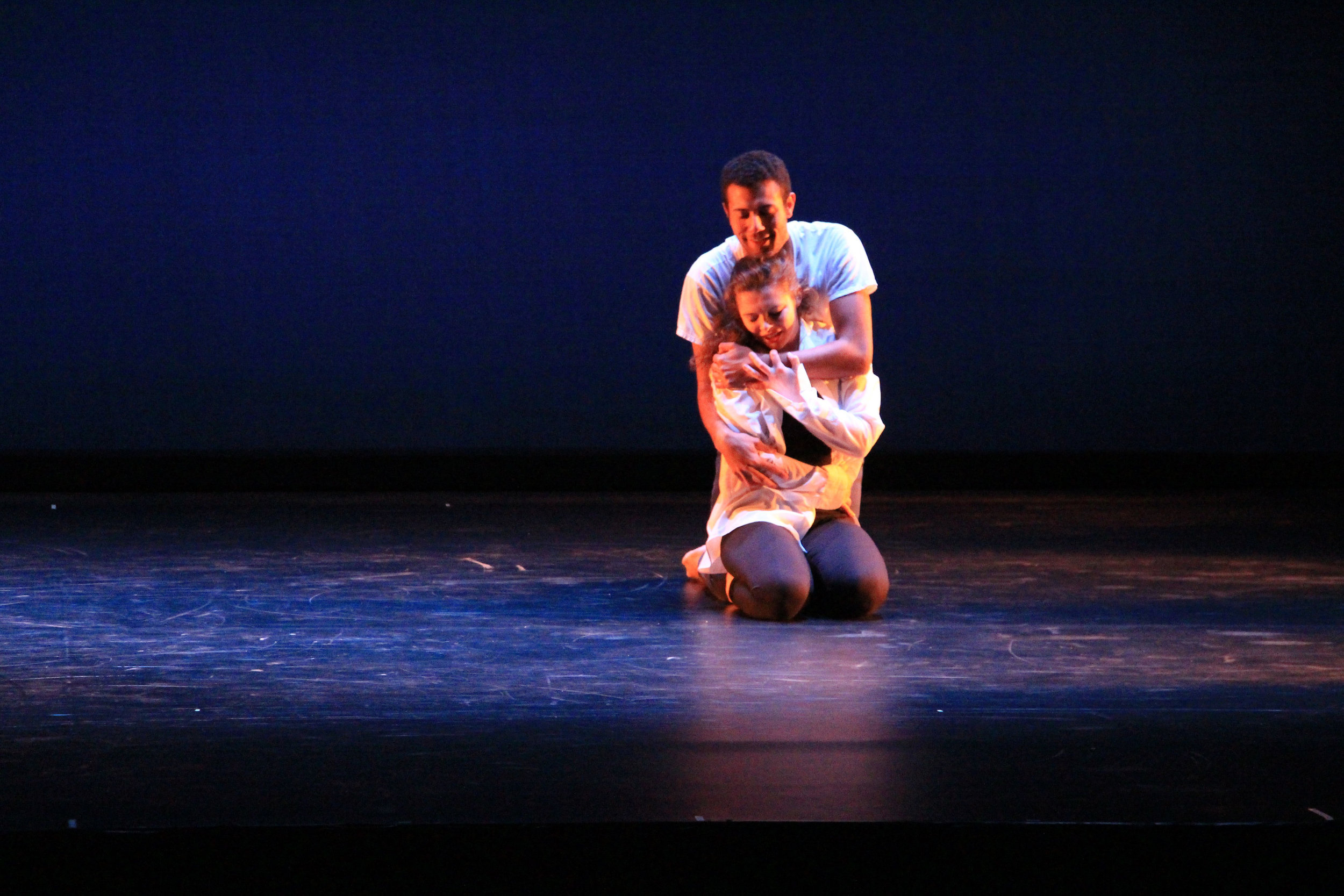 "Dancers Reese Britts and Rebekah Meyer perform ""Missing You,"" choreographed by Sarah Hinz. REBECCA KATZ HARWOOD/SUBMITTED"