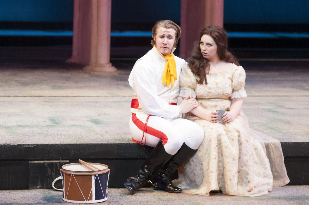 """Shakespeare's """"All's Well That Ends Well"""" tells the tale of an orphan girl who has no hope of getting the man of her dreams. However, after helping the king she's given permission to marry anyone. BRAD EISCHENS/STATESMAN"""