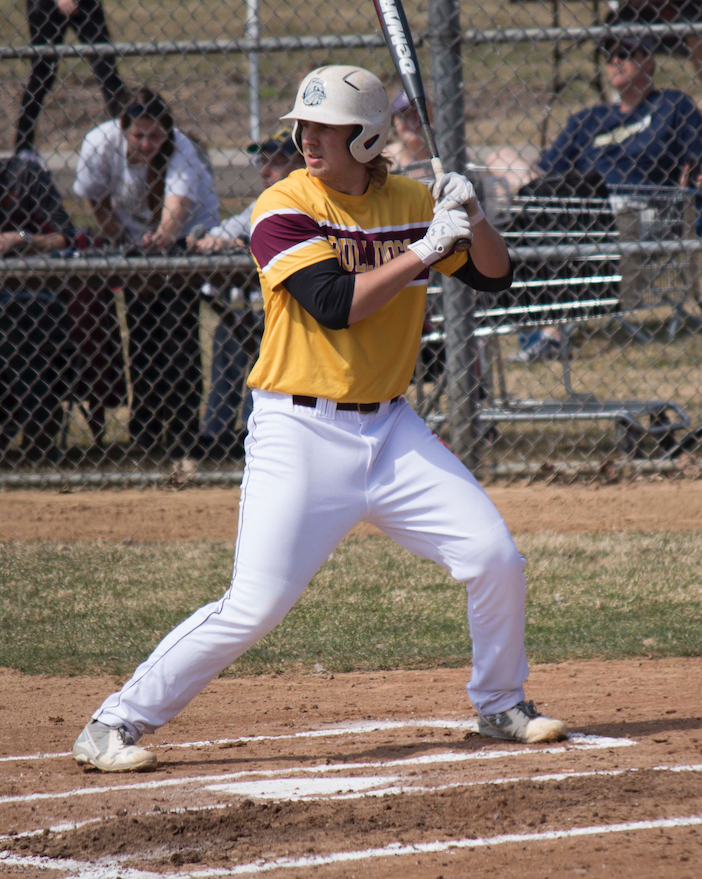 A mirror image of his older brother, who bats right handed, Tyler Wojciechowski has hit for a .354 average this season with 11 extra base hits. BRAD EISCHENS/STATESMAN