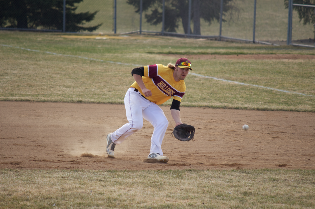 Senior first baseman Alex Wojciechowski has already set BRAD EISCHENS/STATESMAN