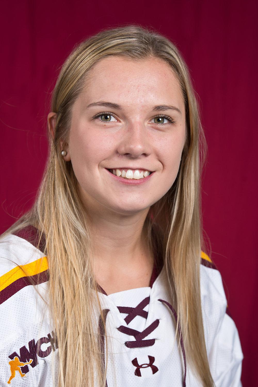 Ashleigh Brykaliuk Photo Courtesy of UMD Athletics