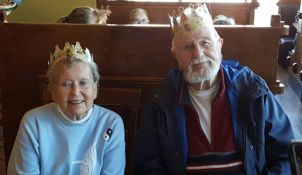 King and Queen, Phil and Hilja Nast, Photo by Diane Oyler