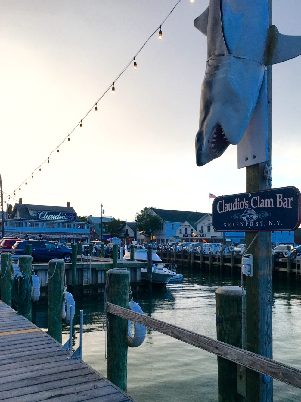 Claudios Clam Bar is the spot for steamers and a cold beer...