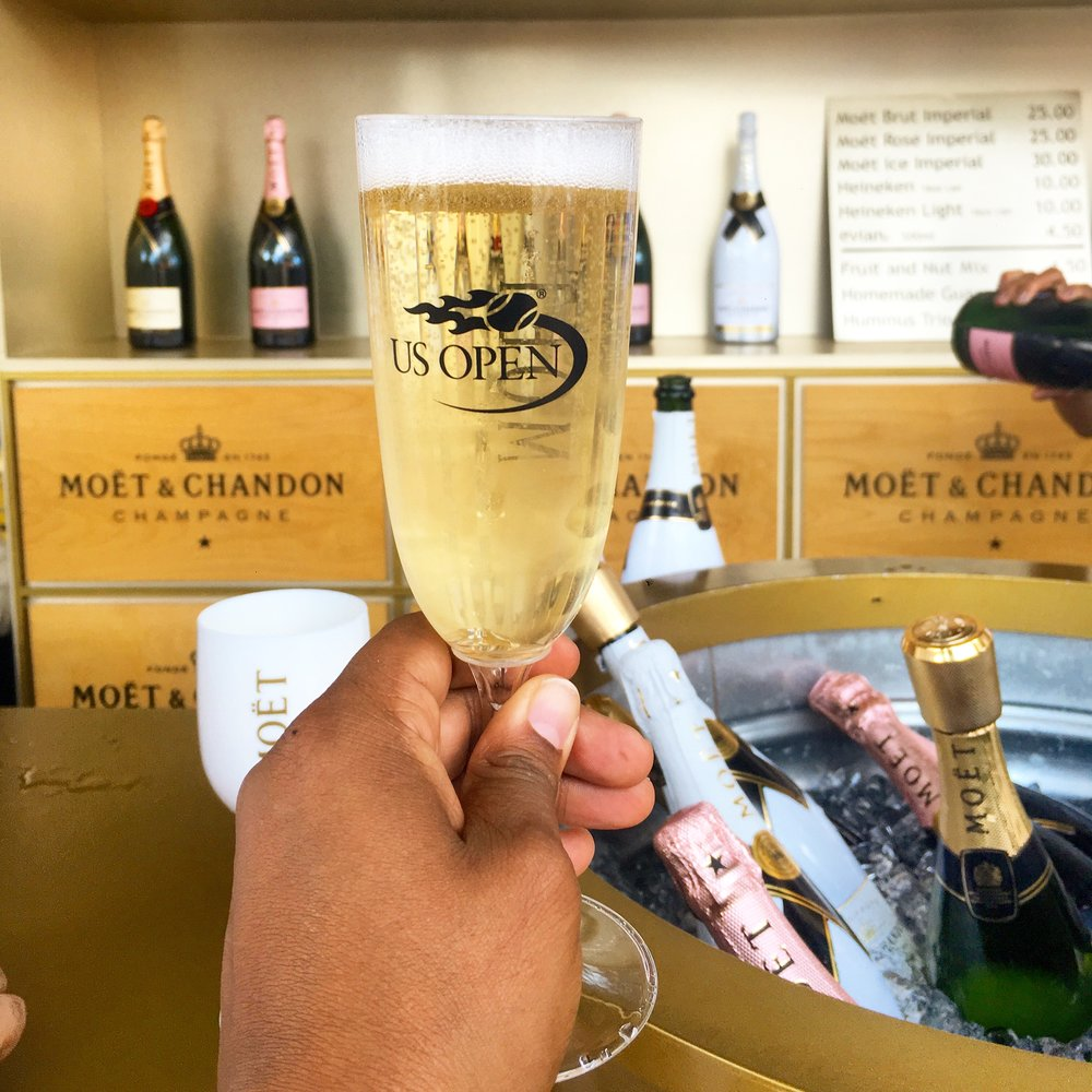 My #MoetMoment at The Open.