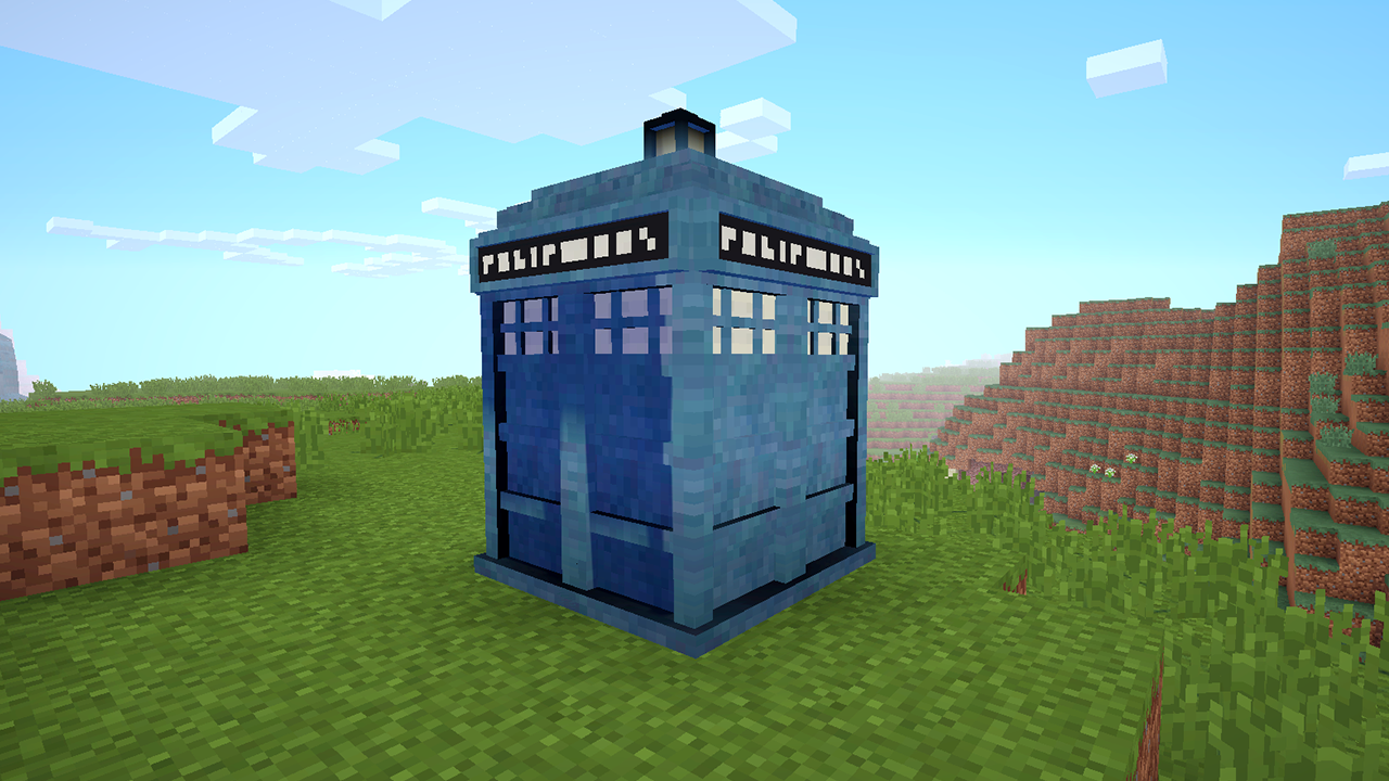 aug 19 tardis in minecraft smallest house in minecraft - Smallest House In The World Minecraft