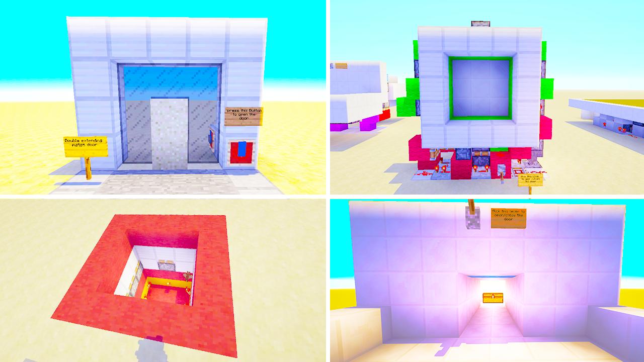 7 Types Of Redstone Doors In Minecraft Minefreak