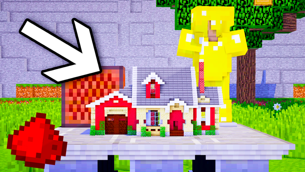 the smallest redstone house in minecraft minefreak