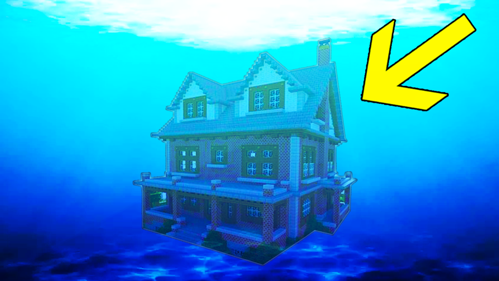 ultimate underwater base  mcpe   u2014 minefreak