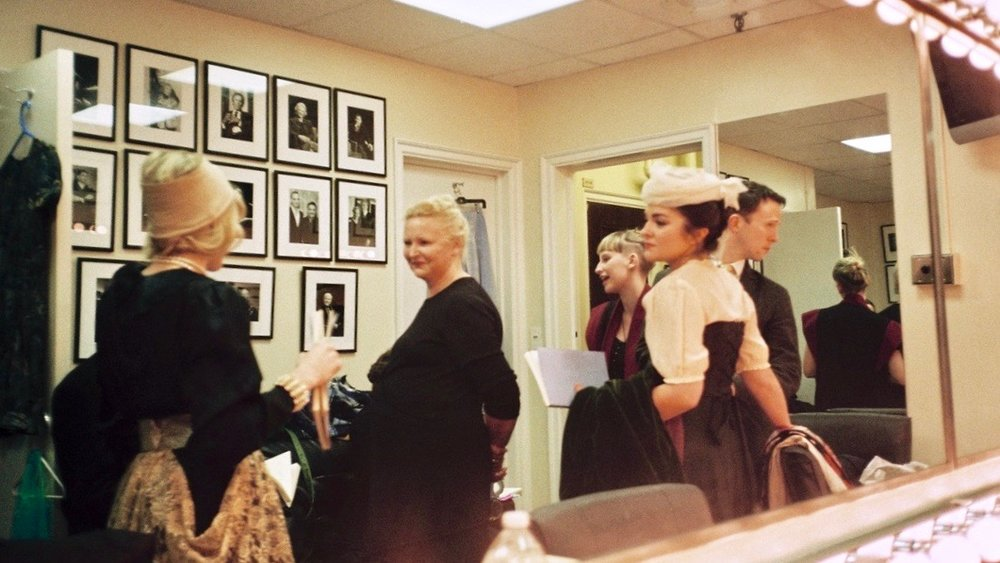 Backstage, With Di Trevis