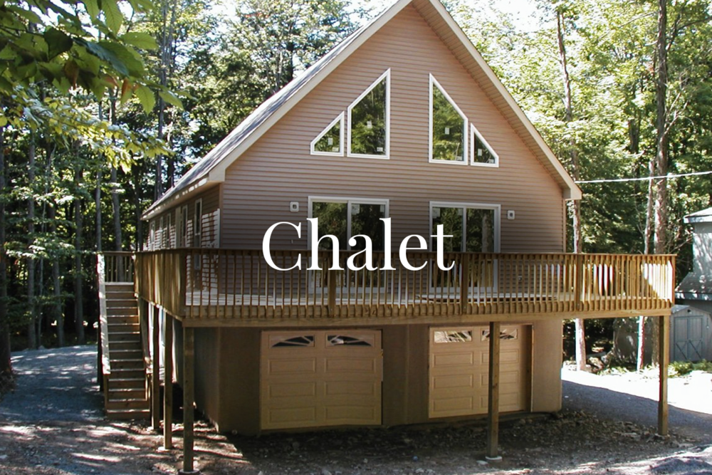 Chalet Style Home