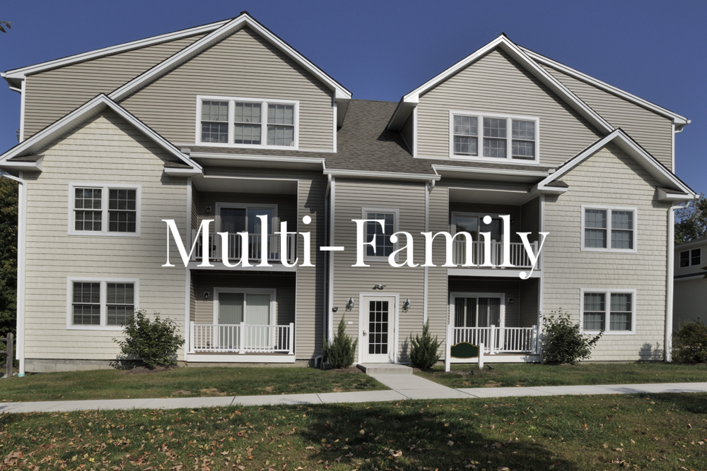 "MULTI-FAMILY A property structure or structures on one single lot, which can house 2 to 4 separate residential units, each as an independently operating address. Often referred to as ""Income Property"" as the units are most often rented out as a source of income for the owner."