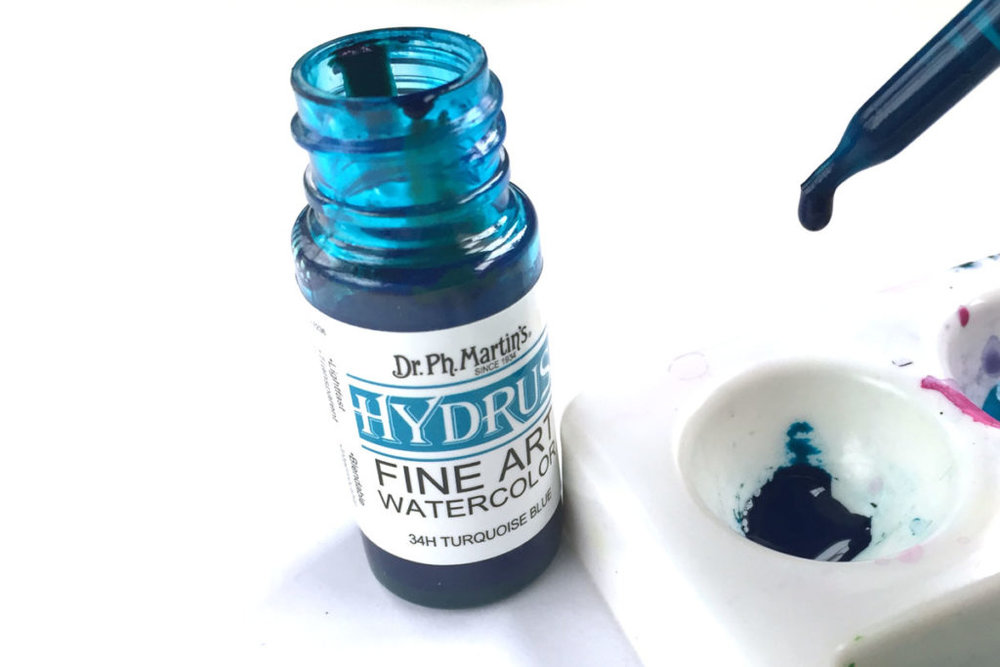 watercolor-basics-liquid-concentrates-blue-color-olive-blossom-designs