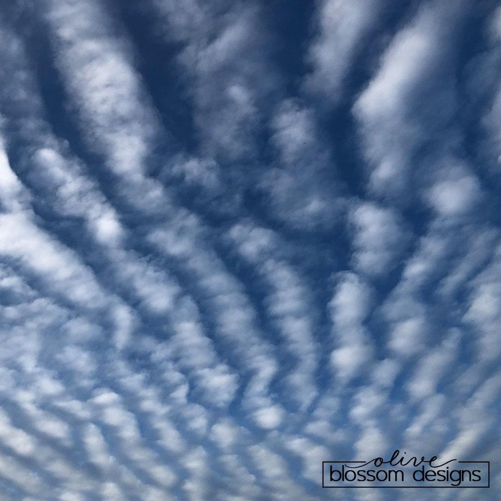 Clouds above Lompoc CA