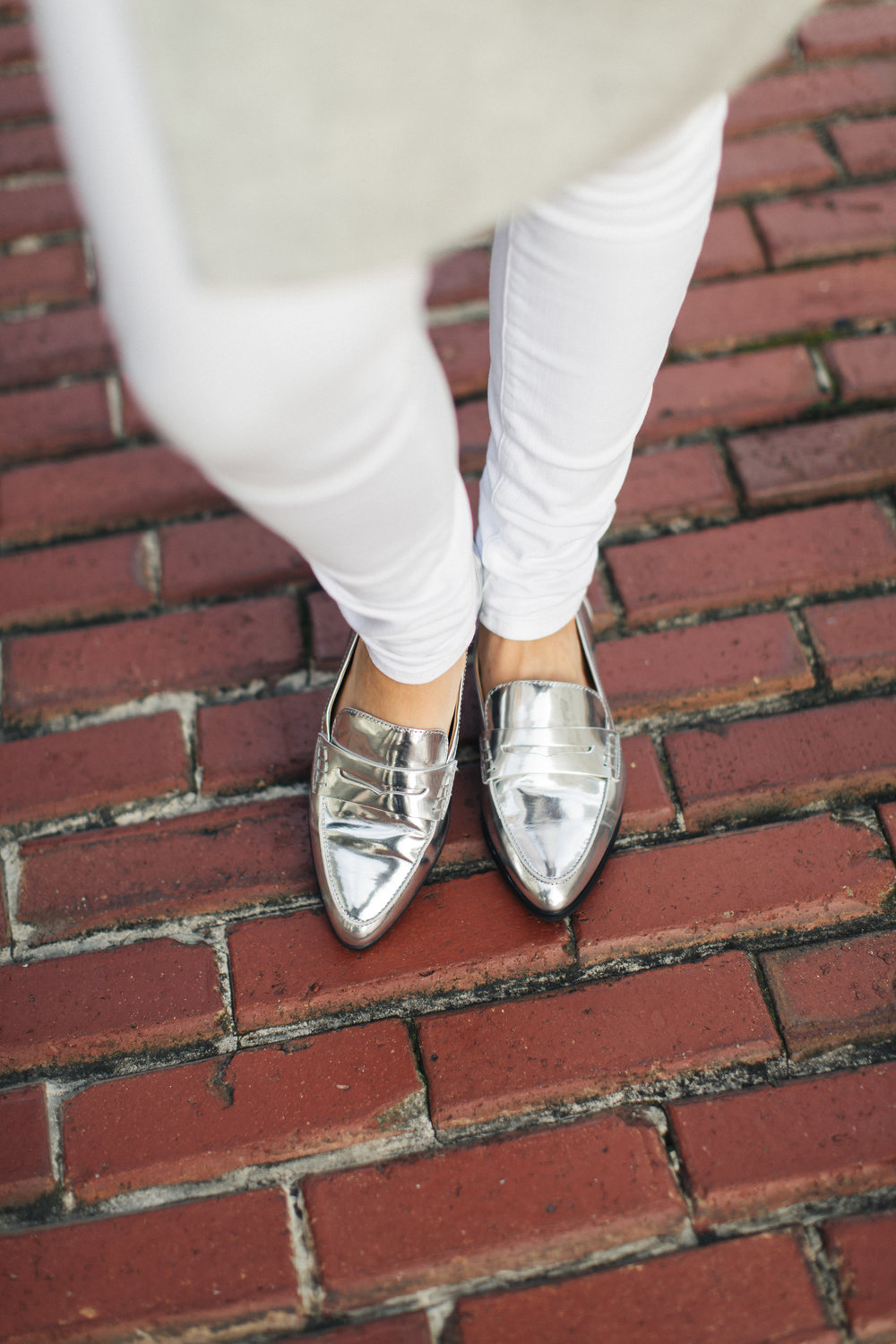 freckles on fillmore silver loafers