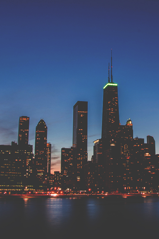 gentscartel :      Chicago Skyline  //  GC
