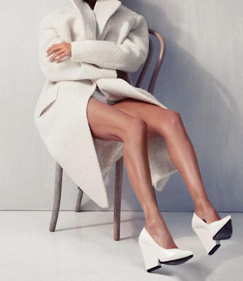 """deauthier :     """" Urban Renewal """" Carolyn Murphy by Cass Bird for  Vogue Korea  November 2012"""