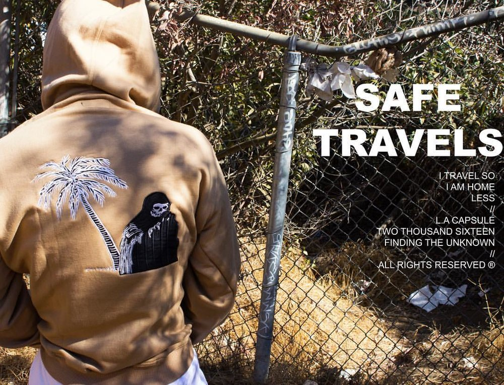 Safe Travels look book and shop coming soon.
