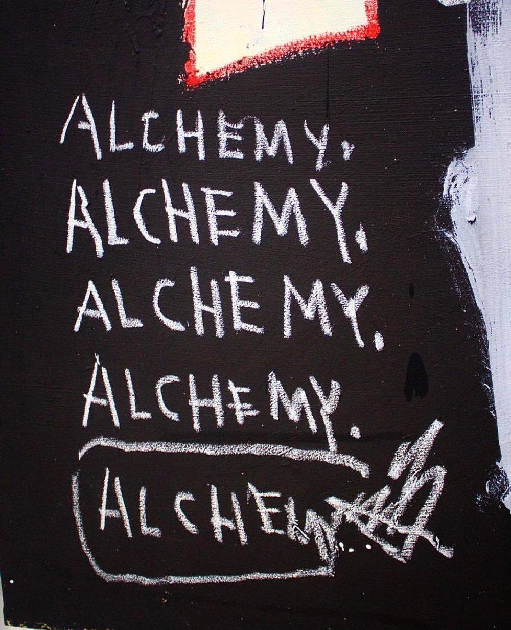 talktoyourdna :     Be your own alchemist | #Basquiat