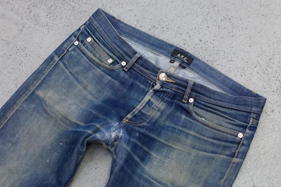 laukkanenesa :     Well worn A.P.C. Petit Standard jeans   Via  Tenue De Nimes