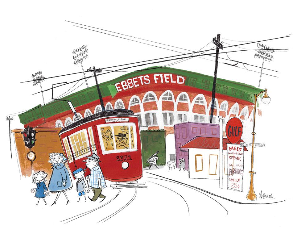 Ebbets Field with Bum Blue.jpg