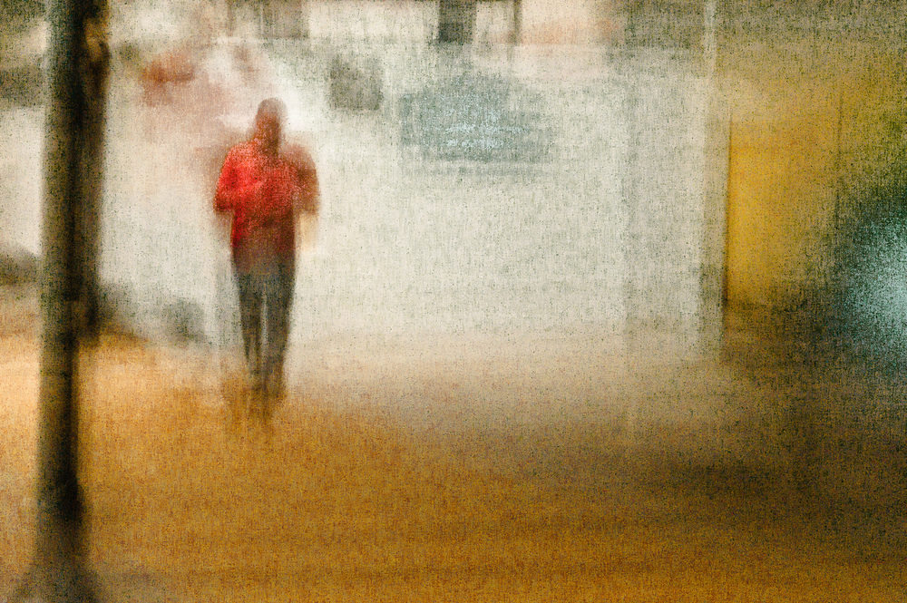 Urban Figure no. 5273 - Red Shirt