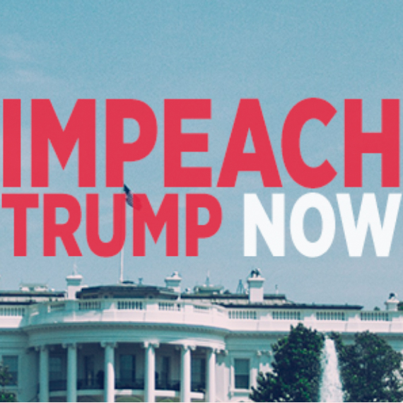 From the moment he assumed the office, President Donald Trump has been in direct violation of the US Constitution. The President is not above the law.  We will not allow President Trump to profit from the presidency at the expense of our democracy. Congress's impeachment investigation should include the  President's violations of the Foreign and Domestic Emoluments Clauses  and whether the President has — in violation of his constitutional duty to take care that the laws be faithfully executed — prevented, obstructed or impeded the administration of justice.