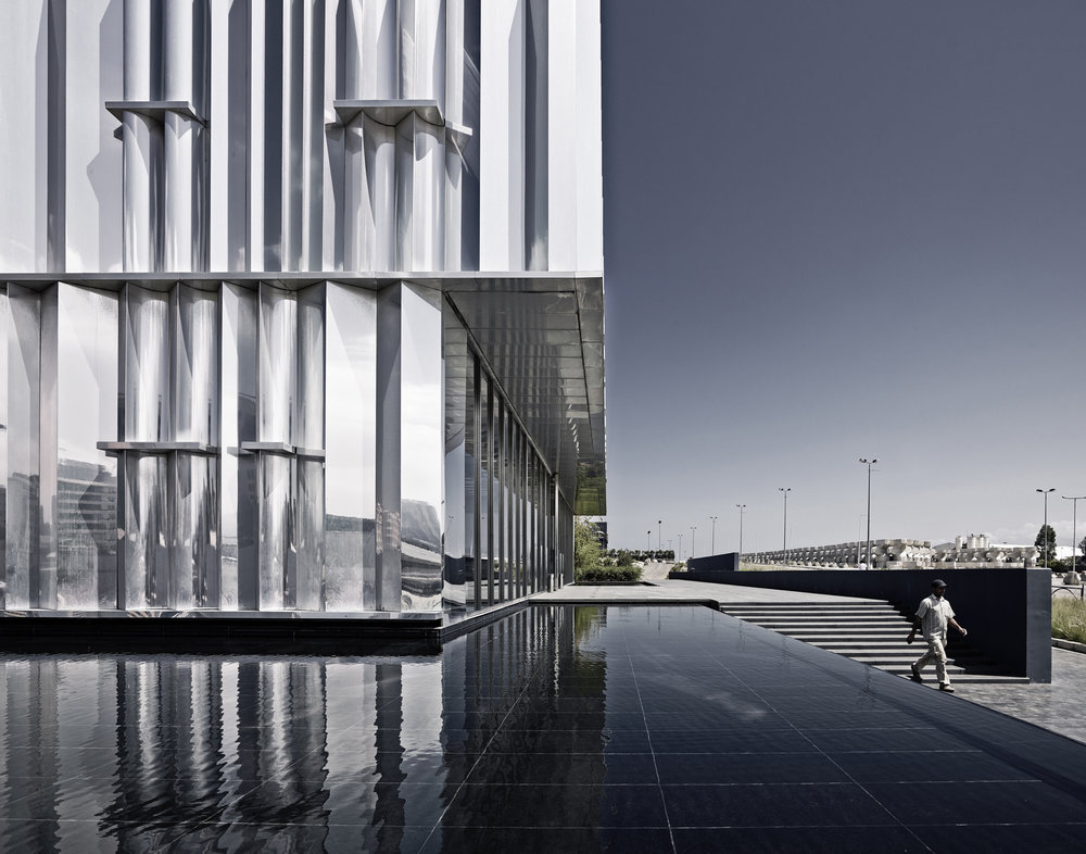 Beirut Exhibition Center. Design: L.E.FT Architects. Photo: Joe Kesrouani