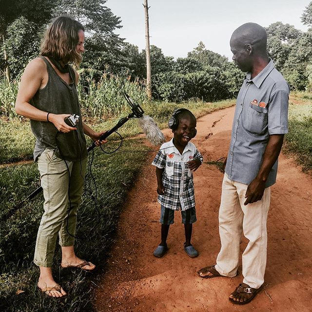 Putting the finishing touches on this film for @ekisa_ministries in Uganda and I absolutely cannot wait to share. Crispus and his father will forever be imprinted on my heart as to what pure and selfless love looks like. I can't even begin to put it in a caption. So stay tuned for a video and a rare blog post coming your way soon! ✌🏼 ⠀⠀⠀⠀⠀⠀⠀⠀⠀⠀ ⠀⠀⠀⠀⠀⠀⠀⠀⠀ ⠀⠀⠀⠀⠀⠀⠀⠀⠀ ⠀⠀⠀⠀ ⠀⠀⠀⠀ ⠀⠀⠀⠀⠀ ⠀⠀ And thanks @kristin_vinton for the snap! Crispus loved the boom mic 😜