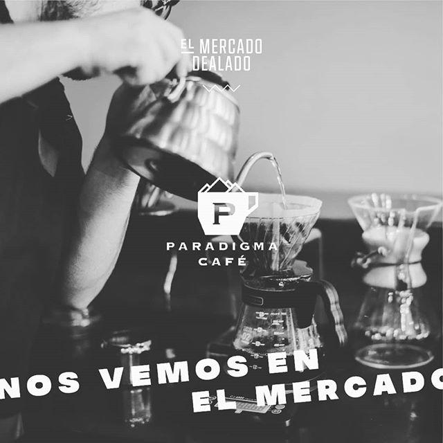 Ya estamos listos nos vemos en el Mercado DeaLado #zona4 #paradugmacafe #cafe #coffee #specialty #newspot #@paradigmacoffee