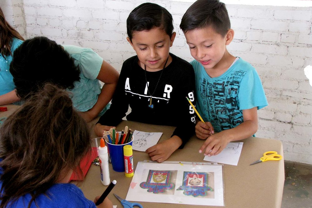 Santa Paula Art Museum ArtSPARK Education Program