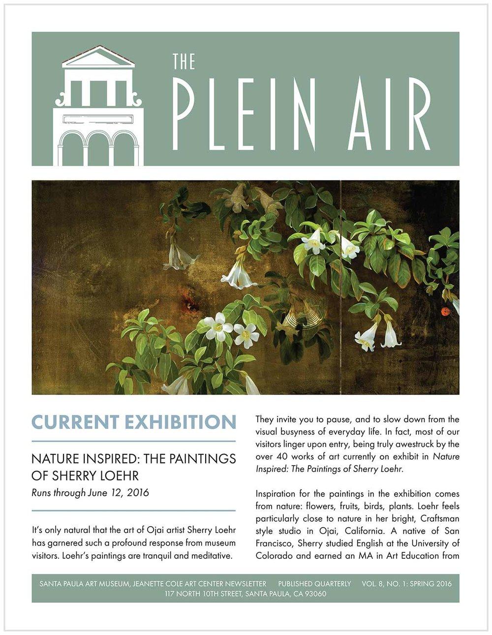 The Plein Air, Spring 2016