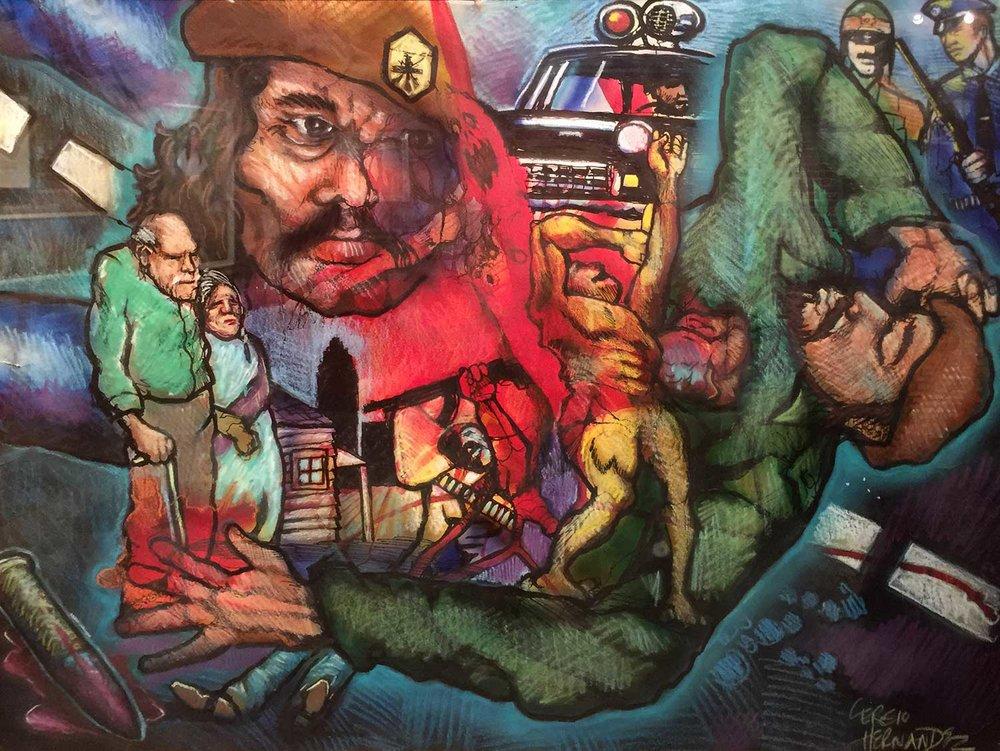 SANTA PAULA ART MUSEUM MORATORIUM BY SERGIO HERNANDEZ