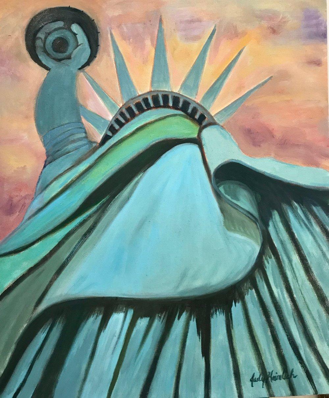 JudyHeimlich, Lady Liberty, Oil, 26x22.jpg