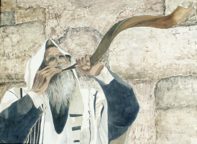 JudyHeimlich, THEWESTERNWALL, Watercolor,32x40.jpg