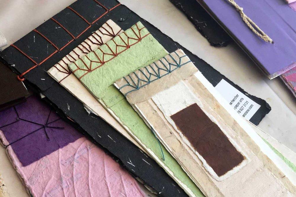 santa paula art museum personal bookmaking japanese binding ages