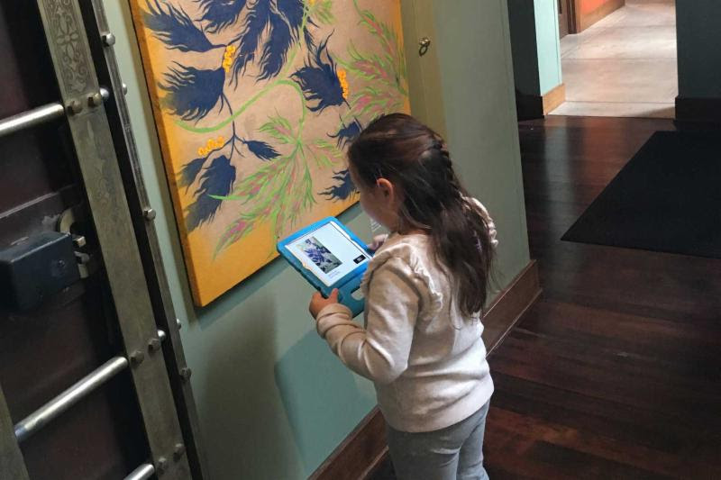 SANTA PAULA ART MUSEUM ISPY ACTIVITY