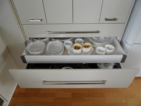Blum drawer within a drawer