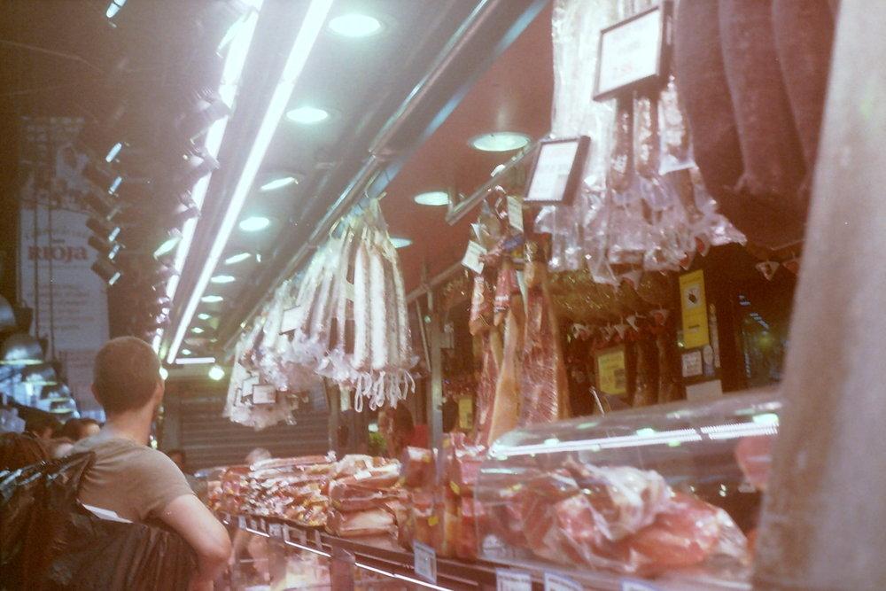 Mercat de Sant Josep de la Boqueria, Barcelona | June 2017 | 35mm