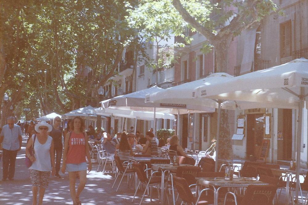 La Rambla de Poblenou, Barcelona, Spain | June 2017 | 35mm