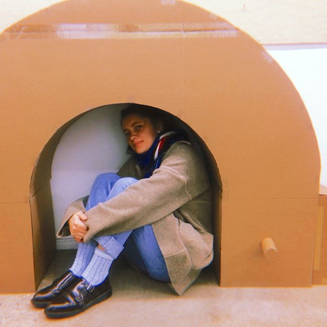 Playing with scale . . . . . . . . . #furniture #modular #productdesign #muebles #diseño #diseñoindustrial #maker #creationindustrielle #modelmaking #philadelphiadesigner #design #designstudent #industrialdesign #memphisgroupstyle #ettoresottsass #memphisgroup #youngdesigner