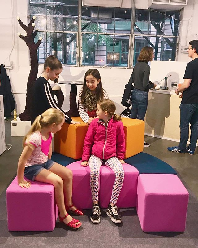 Mobu - the system of furniture that encourages play and creativity . . . . . #wool #pink #orange #soft #playful #wanteddesign #wanteddesignnyc #wanteddesignbrooklyn #furniture #furnituredesign #furnituredesigner #muebles #memphisgroup #ettoresottsass #productdesign #industrialdesign #diseño #meubles #makersgonnamake #maker #softgoods #upholstery #handmade