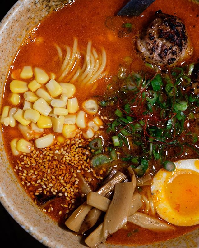 Brrr!!! Warm up to a spicy bowl of noods! Sounds too good to say no. #respecttheramen