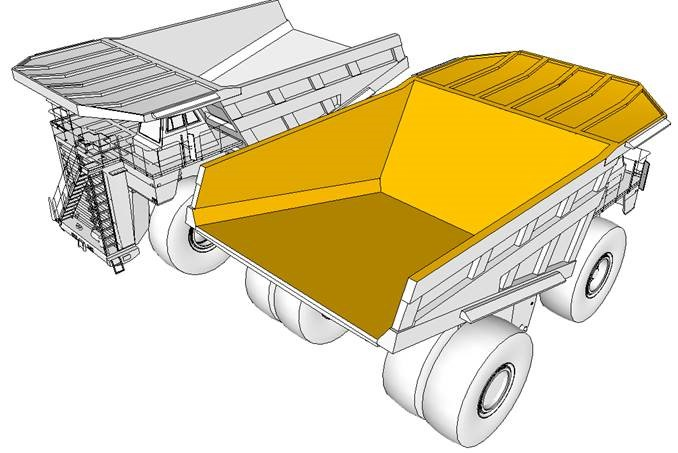 Dumpers  Lining Plates Beds Bin Kits