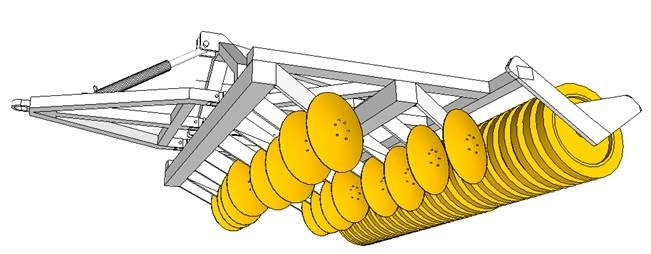 Disc Harrows  Discs Leveling Rollers Subsoilers