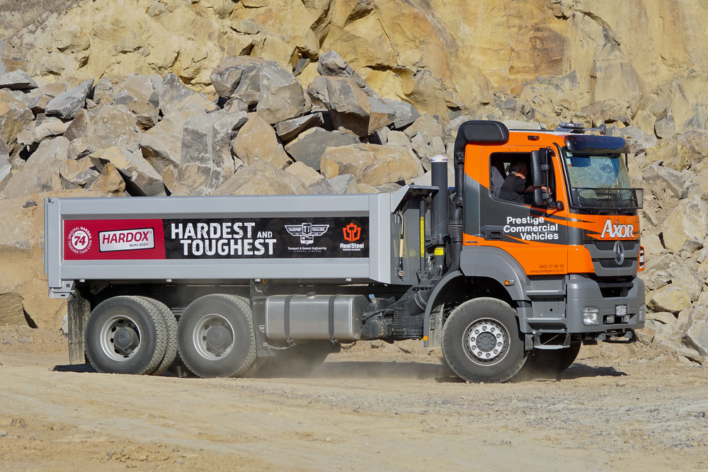 Transport & General Engineering Hardox demo unit
